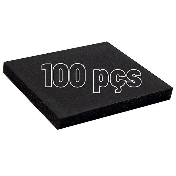 Thermal Pad 100 Peças 10mmx10mm 1.0mm Para Consoles GPU