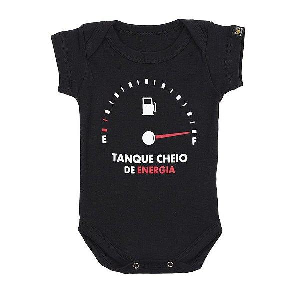Body Bebê Tanque Cheio Preto