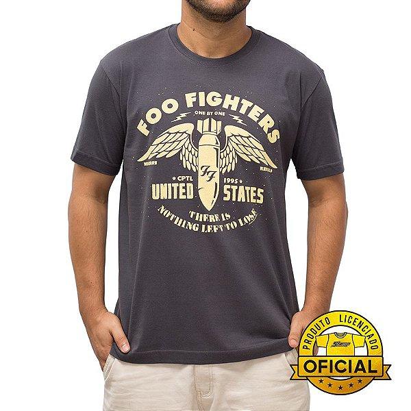 Camiseta Foo Fighters US Chumbo