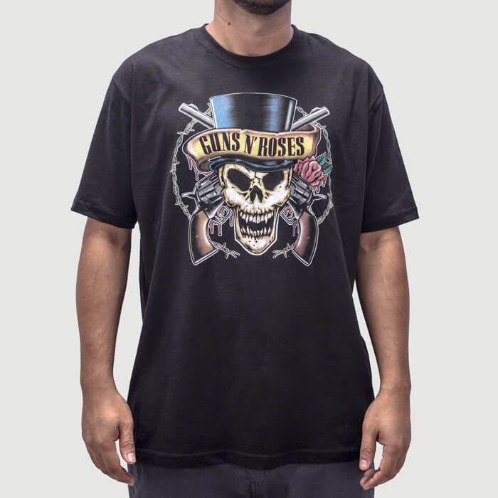 Camiseta Guns N Roses Preta