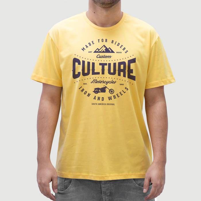 Camiseta Moto Culture Gema.