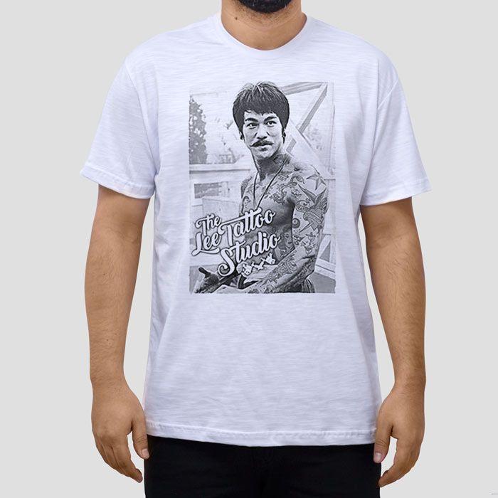 Camiseta Bruce Lee Tattoo.