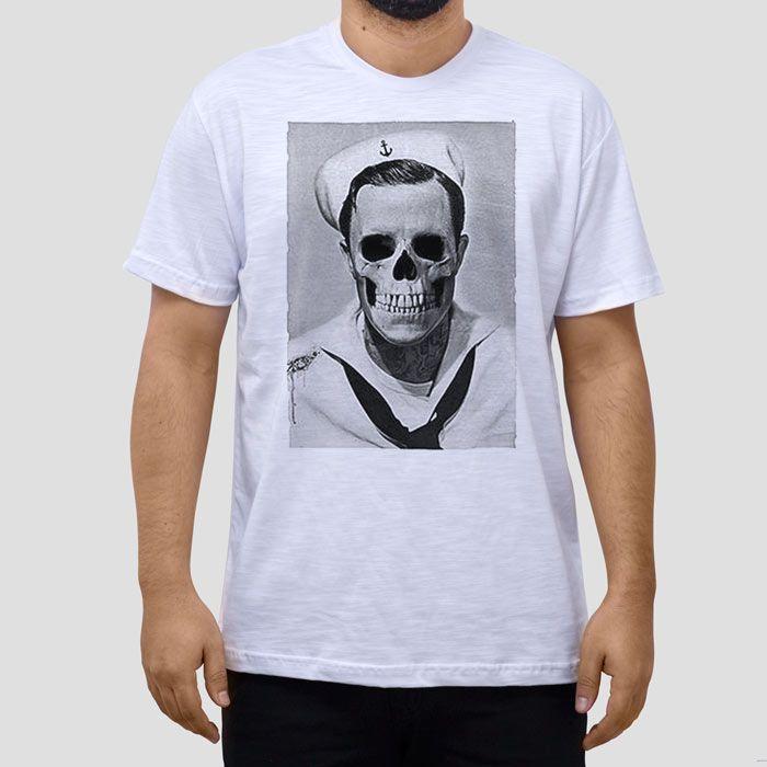 Camiseta Gene Marinheiro Caveira.