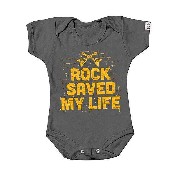 Body Bebê Rock Salva Chumbo