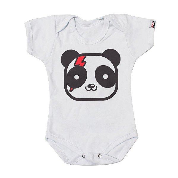 Body Bebê Urso Bowie Branco