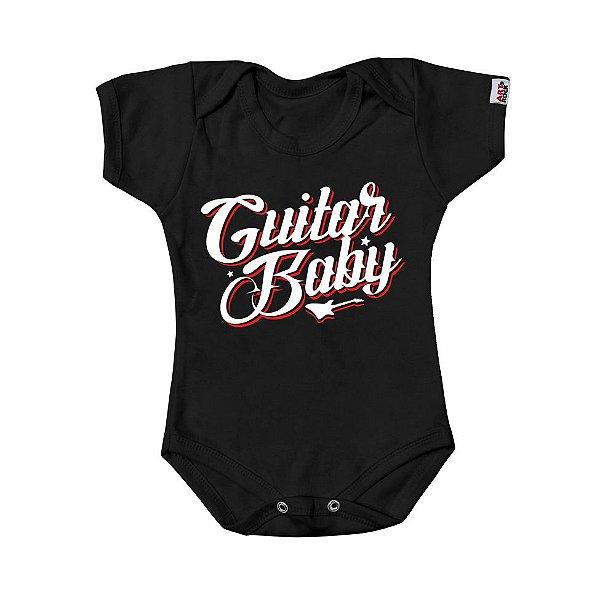 Body Bebê Guitar Baby Preto