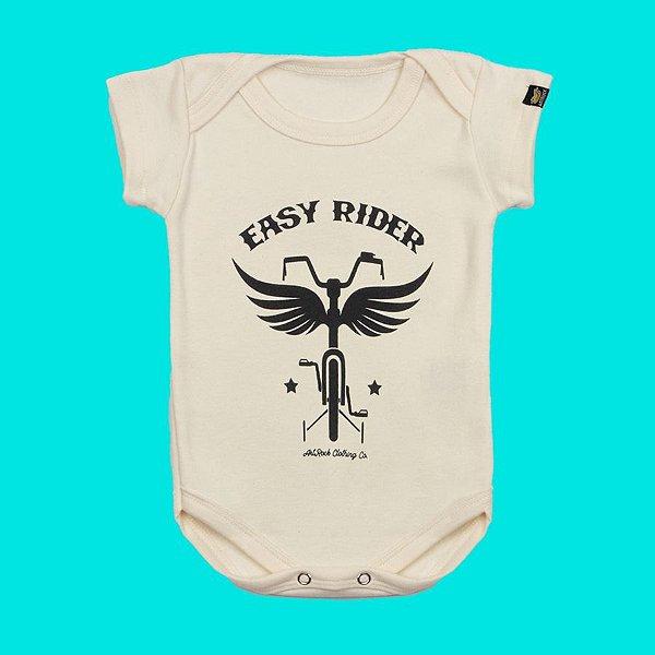 Body Bebê Easy Rider Crú