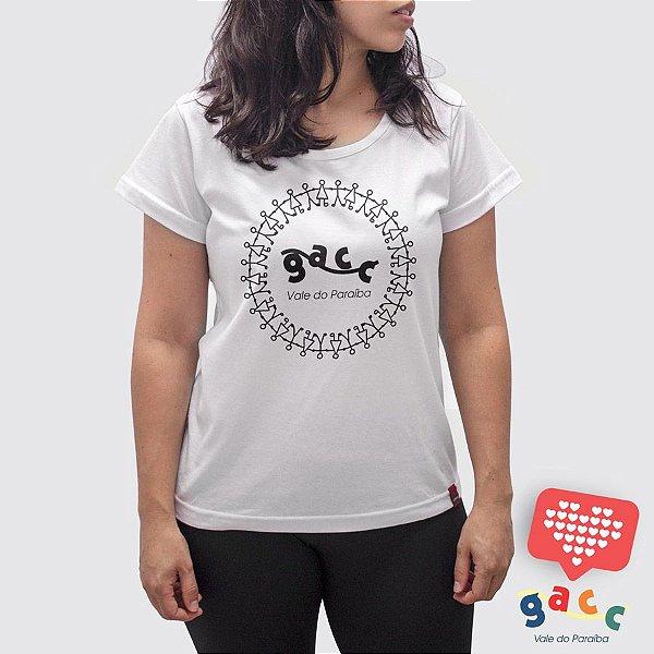Camiseta Feminina Gacc Ciranda Branca
