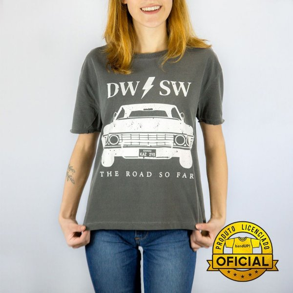 Camiseta Feminina Supernatural Dw Sw Estonada