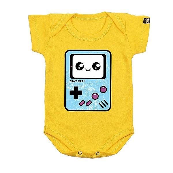 Body Bebê Baby Game Amarelo