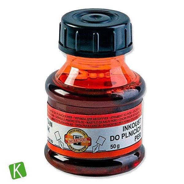 Tinta para Caneta Tinteiro Koh-I-Noor Vermelha 50g