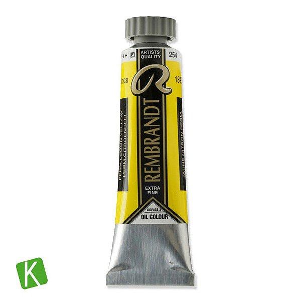 Tinta a Óleo Rembrandt 15ml 254 Permanent Lemon Yellow
