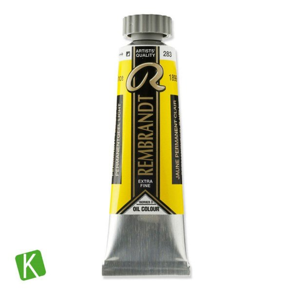 Tinta a Óleo Rembrandt 15ml 283 Permanent Yellow Light