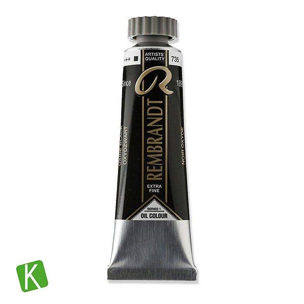 Tinta a Óleo Rembrandt 15ml 735 Oxide Black