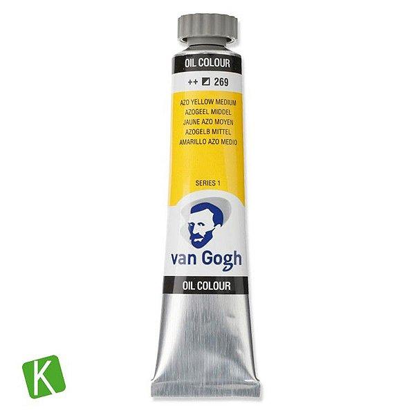 Tinta a Óleo Van Gogh 20ml 269 Yellow Medium