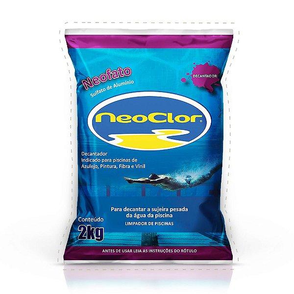 Sulfato de Alumínio Decantador NEOFATO Neoclor 2KG