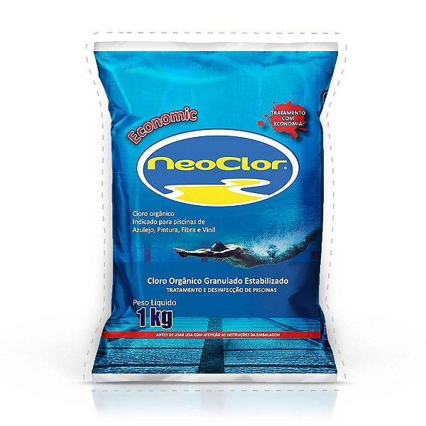 Cloro ECONOMIC Neoclor Pacote 1KG