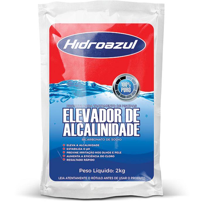 Bicarbonato/Elevador de Alcalinidade Hidroazul 2KG