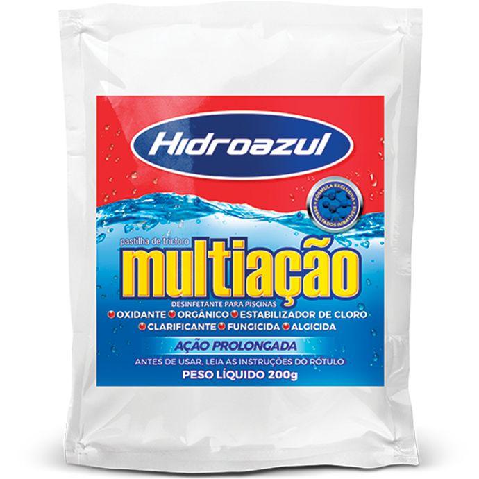 Pastilha de Cloro Hidroazul 200G