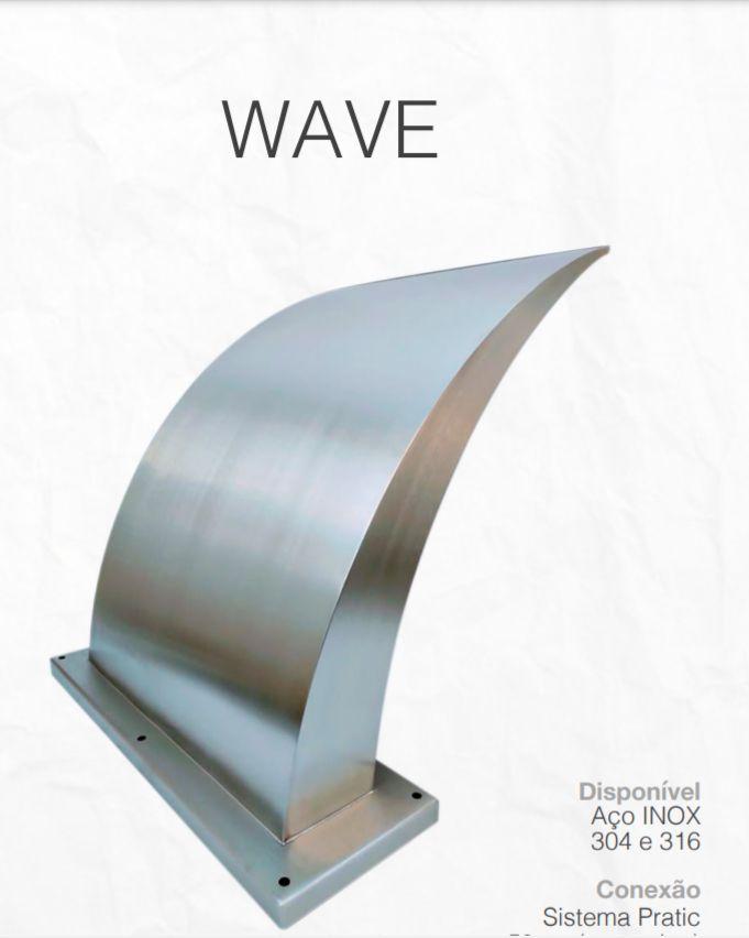 CASCATA INOX WAVE GRANDE