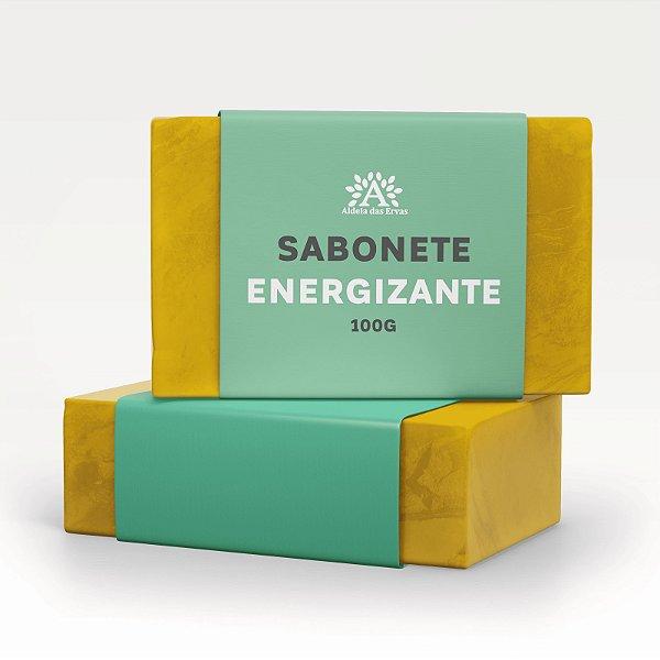 Sabonete Energizante 100mg - Aldeia das Ervas