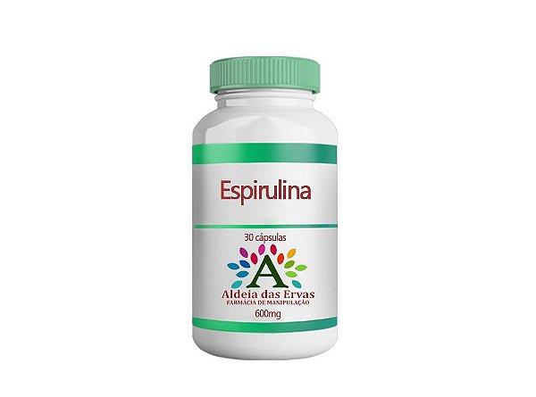 Espirulina 30 Capsulas 600mg - Aldeia das Ervas