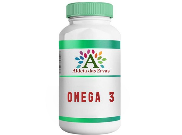 Omega 3 60 cápsulas 1000mg - Aldeia das Ervas