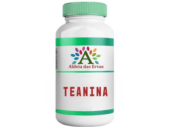 Teanina 200mg - Aldeia das Ervas