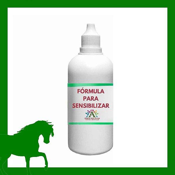 Fórmula para Sensibilizar 100ml - Saúde Animal