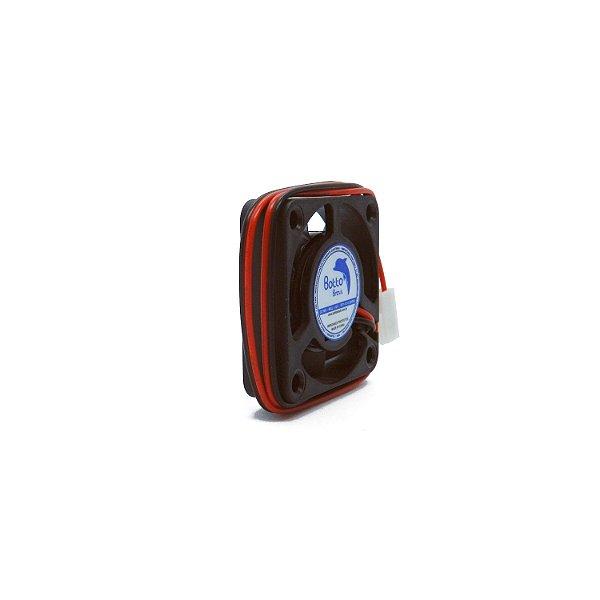 Micro ventilador DC Fan 40x40x10mm 12V Média Rotação Ball/Rolamento | Botto Brazil