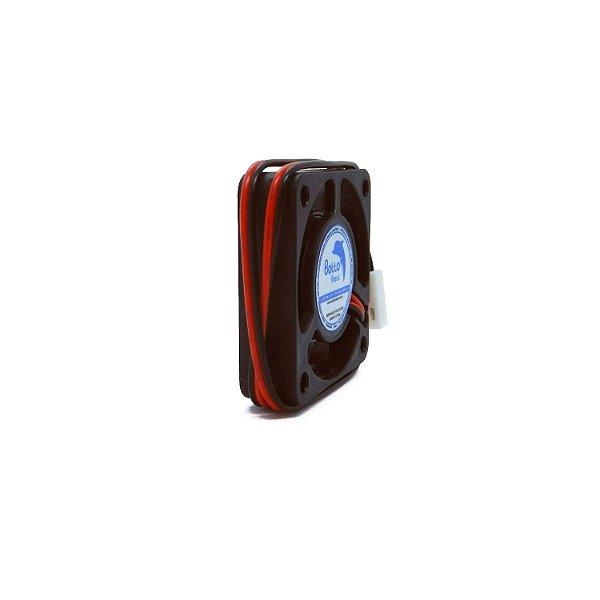 Micro ventilador DC Fan 40x40x10mm 24V Média Rotação Sleeve/Bucha | Botto Brazil