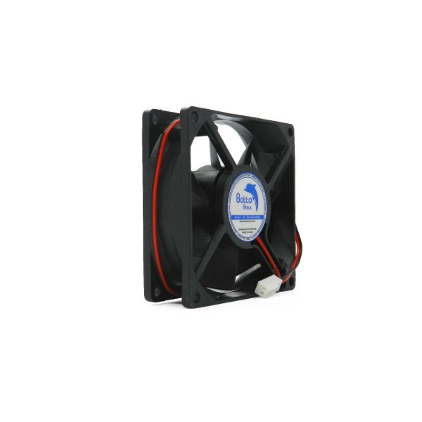 Micro ventilador DC Fan 80x80x25mm 24V Média Rotação Sleeve/Bucha | Botto Brazil
