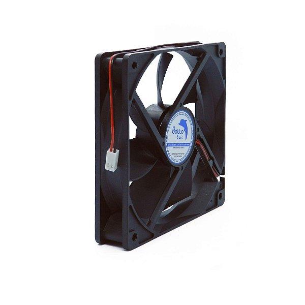 Micro ventilador DC Fan 120x120x25mm 24V Média Rotação Sleeve/Bucha | Botto Brazil
