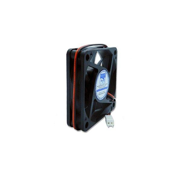 Micro ventilador DC Fan 60x60x15mm 24V Silencioso Waterproof Baixa Rotação Sleeve/Bucha   Botto Brazil
