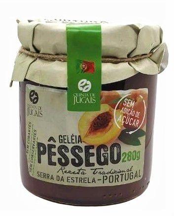 Geleia Pêssego sem açúcar Quinta Jugais 280g