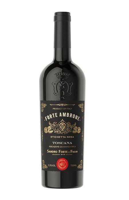 Vinho tinto Forte Ambrone Etichetta Nera IGT Toscana