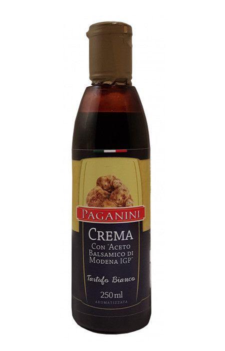 Creme Aceto Balsâmico Trufas Brancas 250ml Paganini