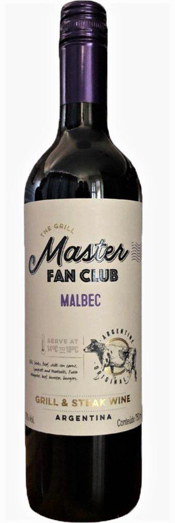 Vinho tinto Malbec Grill Master