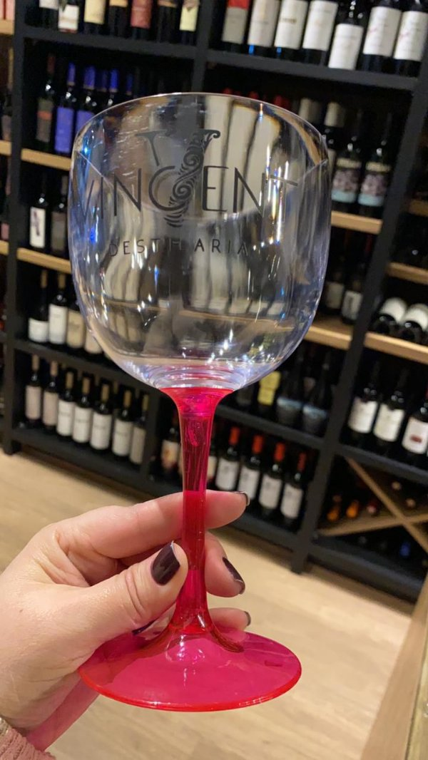 Taça para Gin Rosa Vincent Destilaria