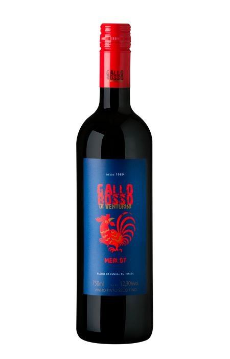 Vinho tinto Merlot Gallo Rosso Casa Venturini