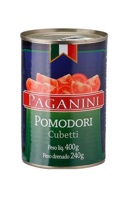 Tomate Pelado em Cubos Paganini 400g