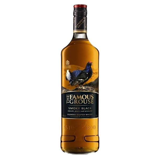 Whisky escocês The Famous Grouse Smoky Black 750ml