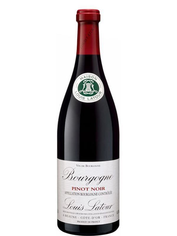 Vinho tinto Pinot Noir Bourgogne Louis Latour 750ml