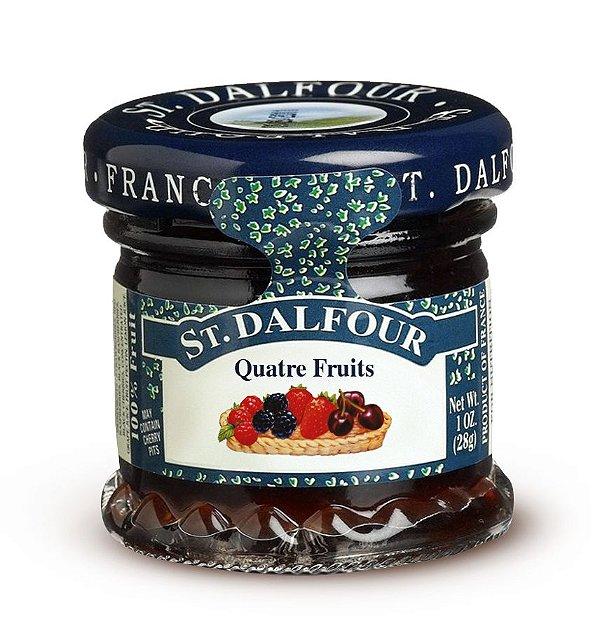 Mini geleia St Dalfour Quatro Frutas 28g