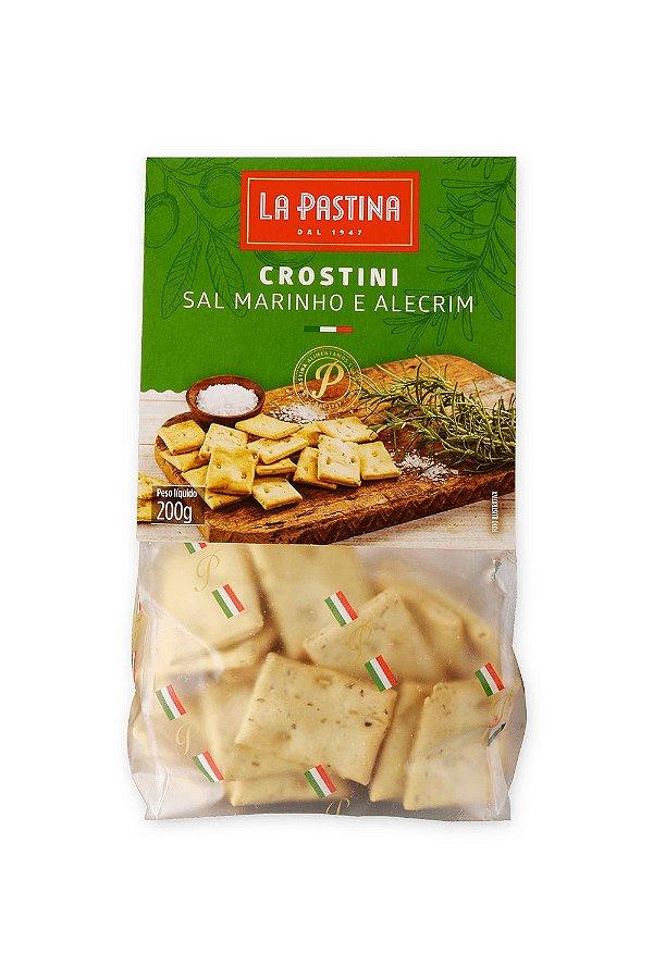 Crostini Sal Marinho e Alecrim 200g La Pastina