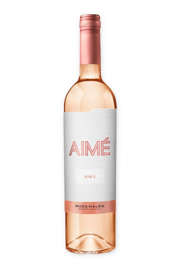 Vinho rosé Ruca Malen Aimé