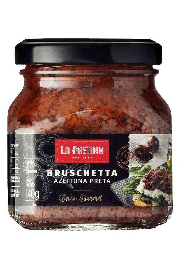 Bruschetta Azeitona Preta Gourmet 140g La Pastina
