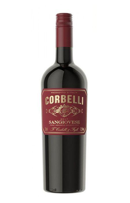 Vinho tinto Sangiovese Puglia Corbelli