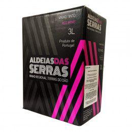 Vinho tinto Aldeias das Serras Regional Dão Bag in box 3l