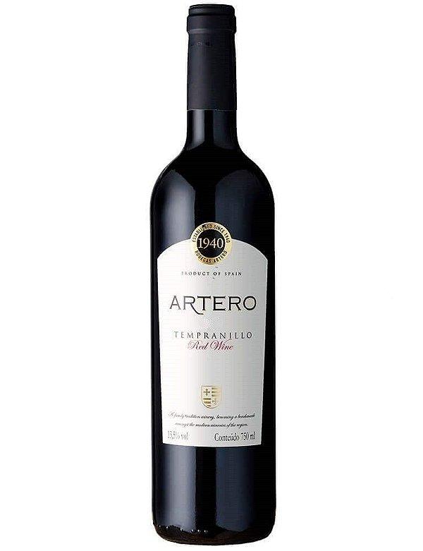 Vinho tinto Tempranillo Artero Red Wine